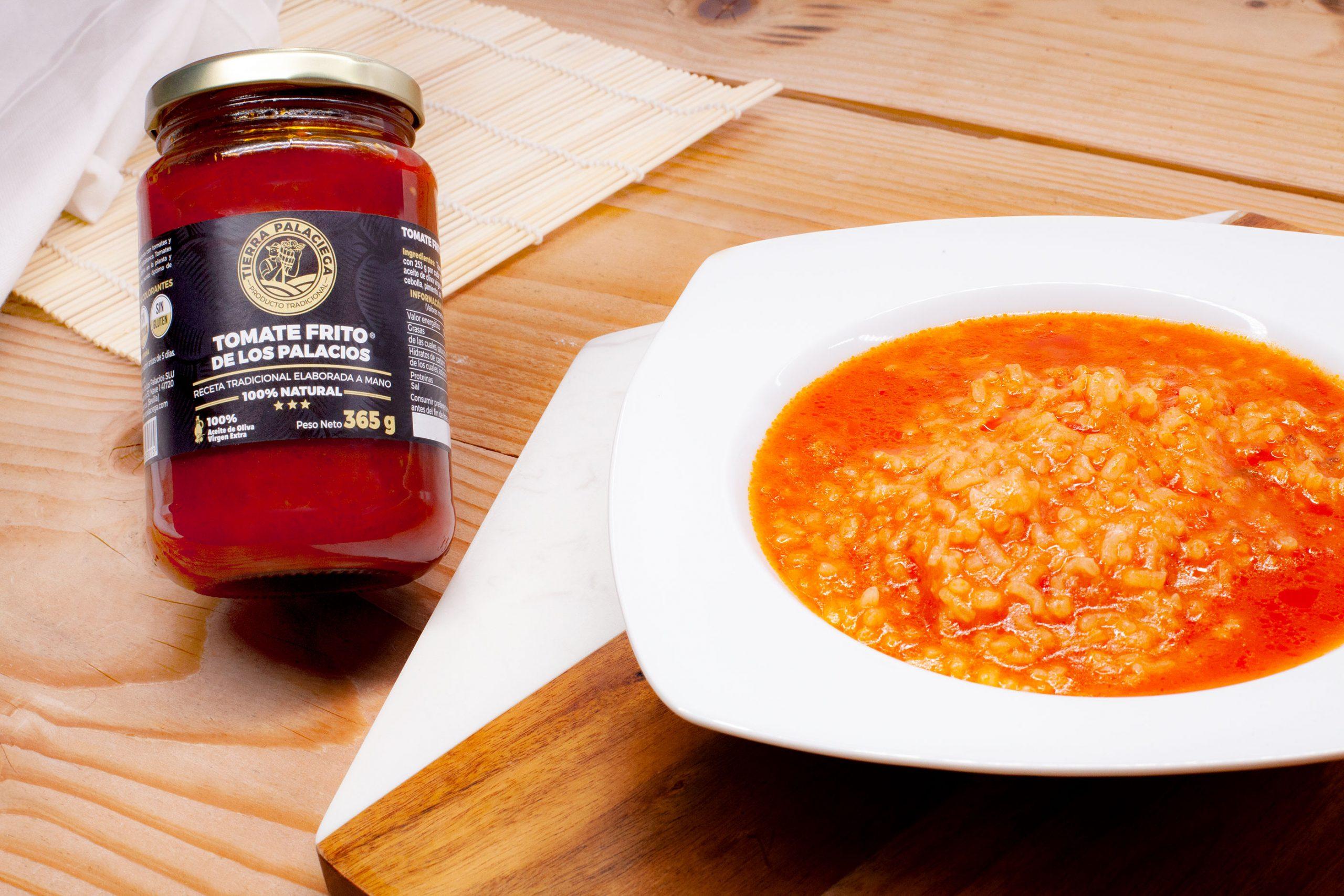 """Arroz con tomate (""""Arroz a lo Pobre"""")"""