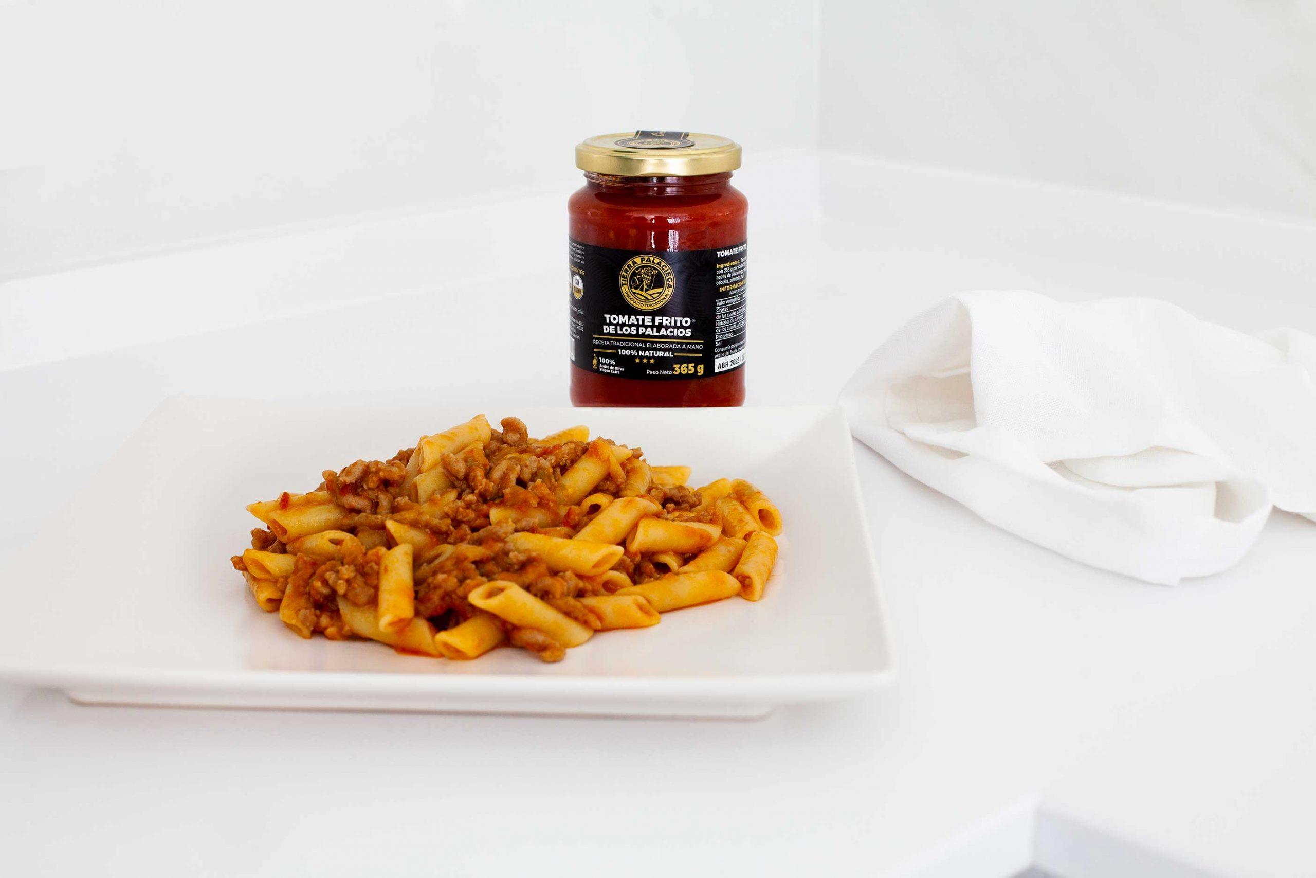 Macarrones en salsa Boloñesa